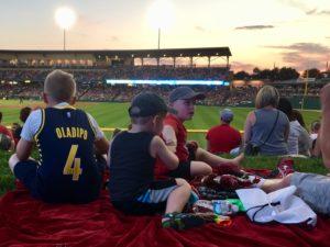 Watching Indians Game
