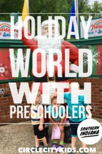 Holiday World Pin - Circle City Adventure Kids