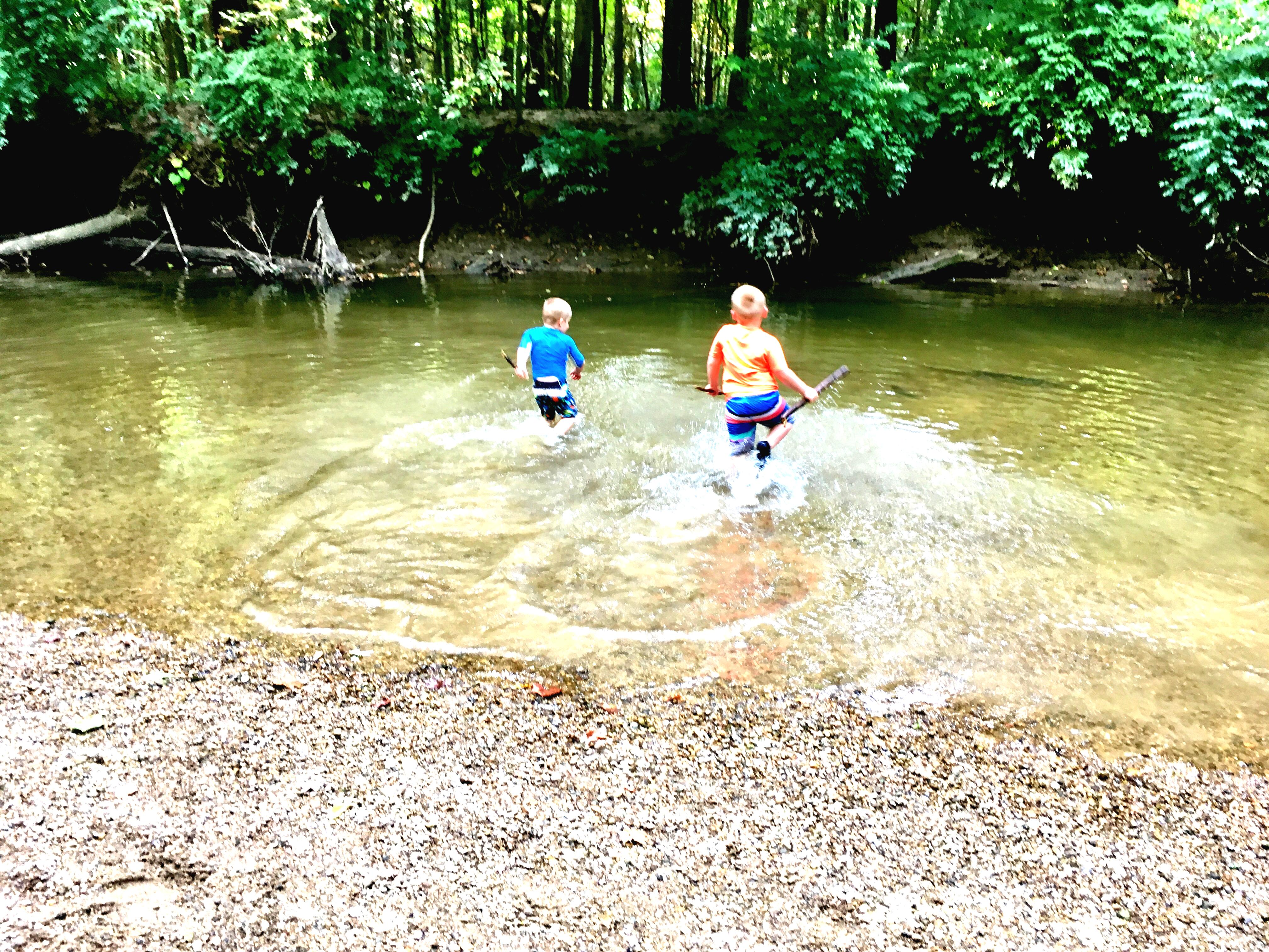 Top 5 Favorite Creeks to Stomp around Indy