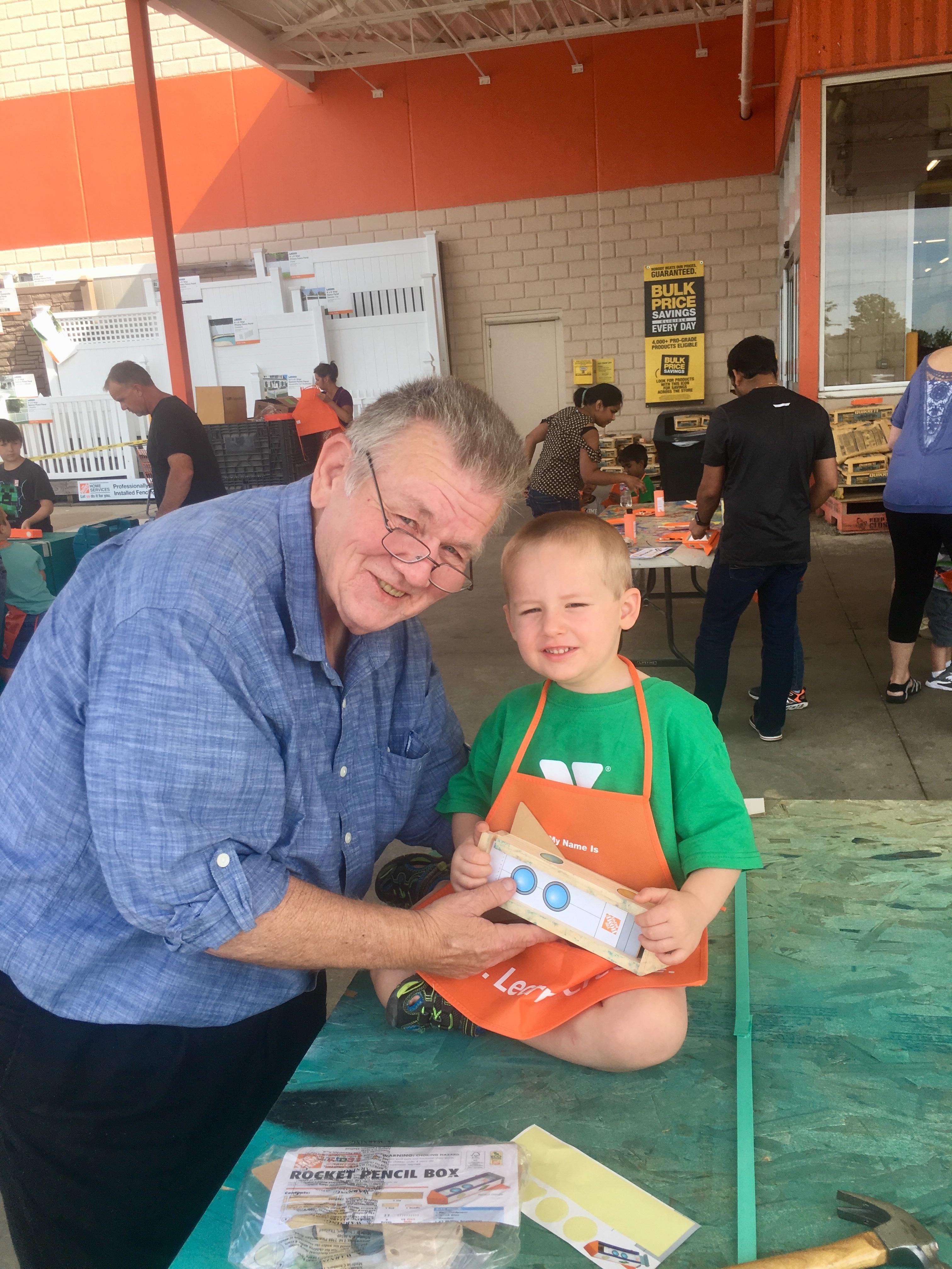 Free Home Depot Workshops for Kids