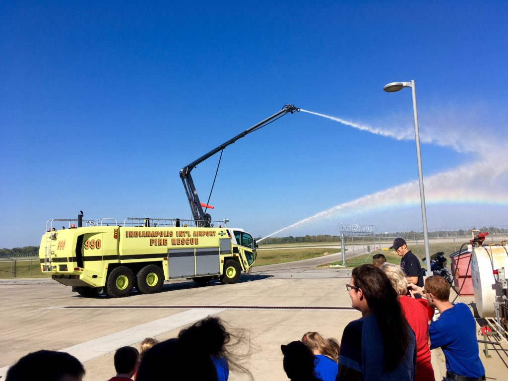 Indy Airport Fire Department Tour - Circle City Adventure Kids