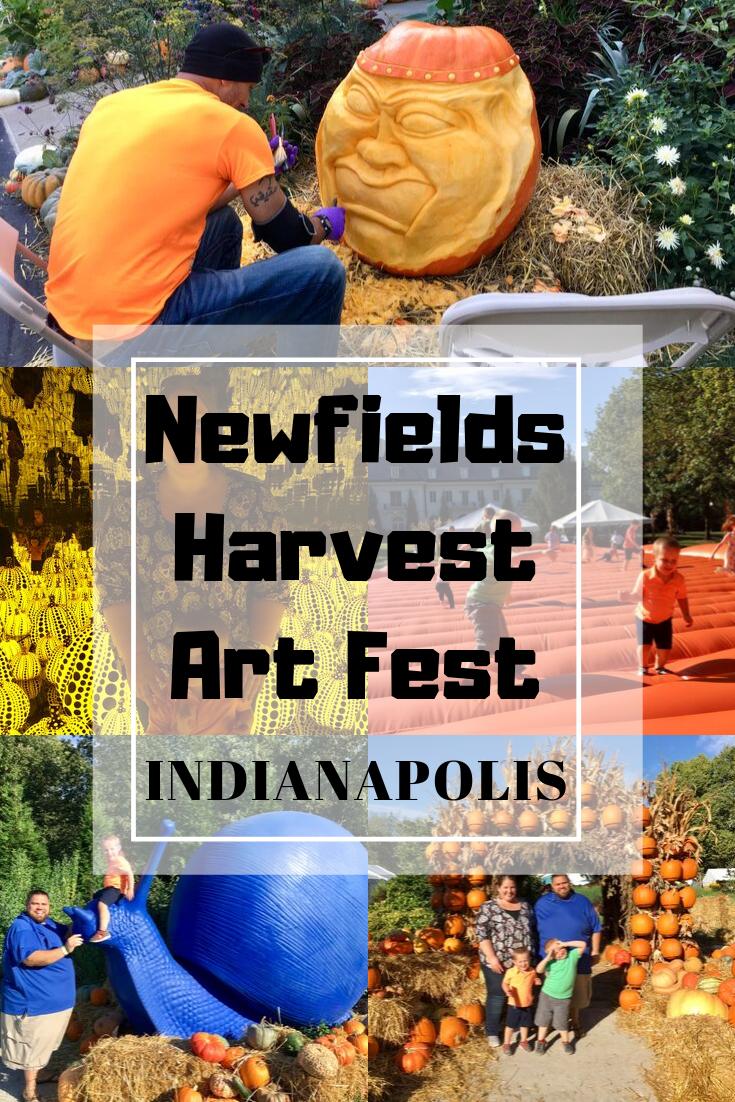 Newfields Harvest Art Fest Pin - Circle City Adventure Kids