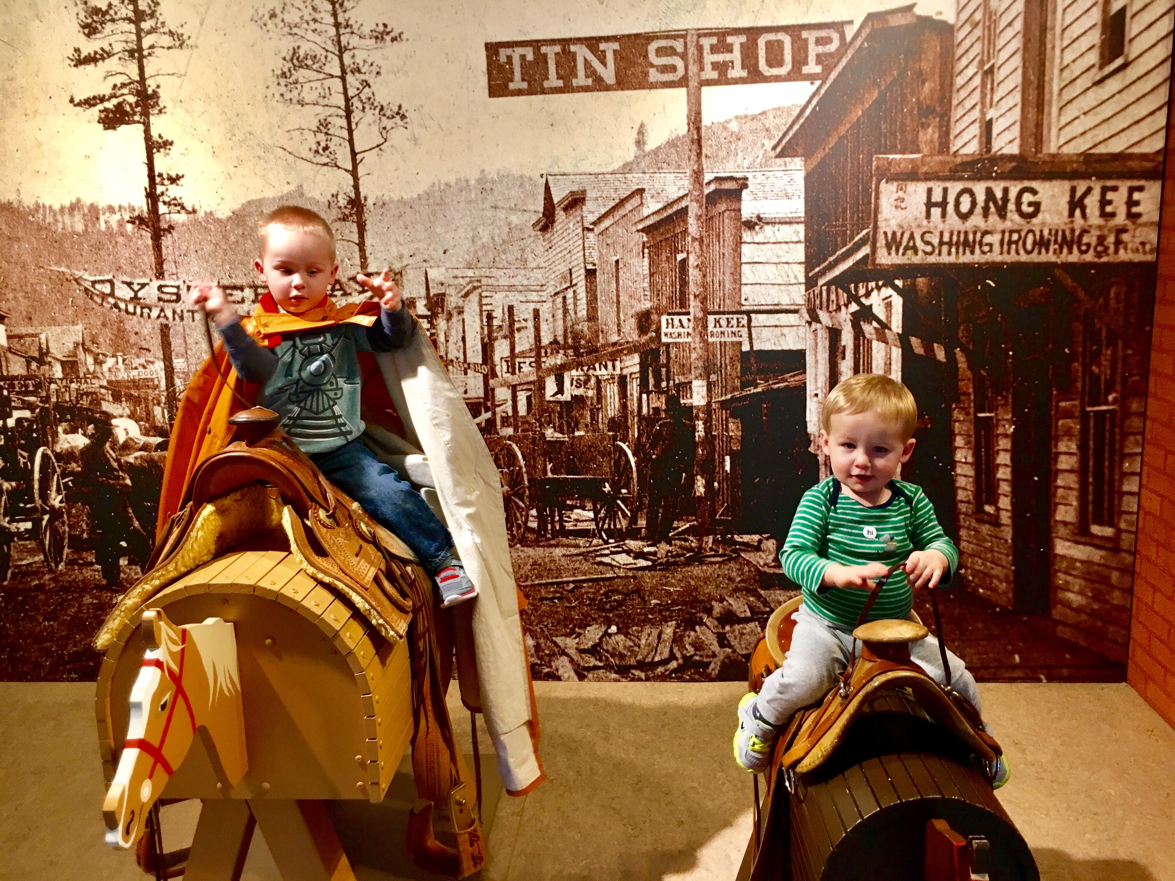 Eiteljorg Jingle Rails - Circle City Adventure Kids