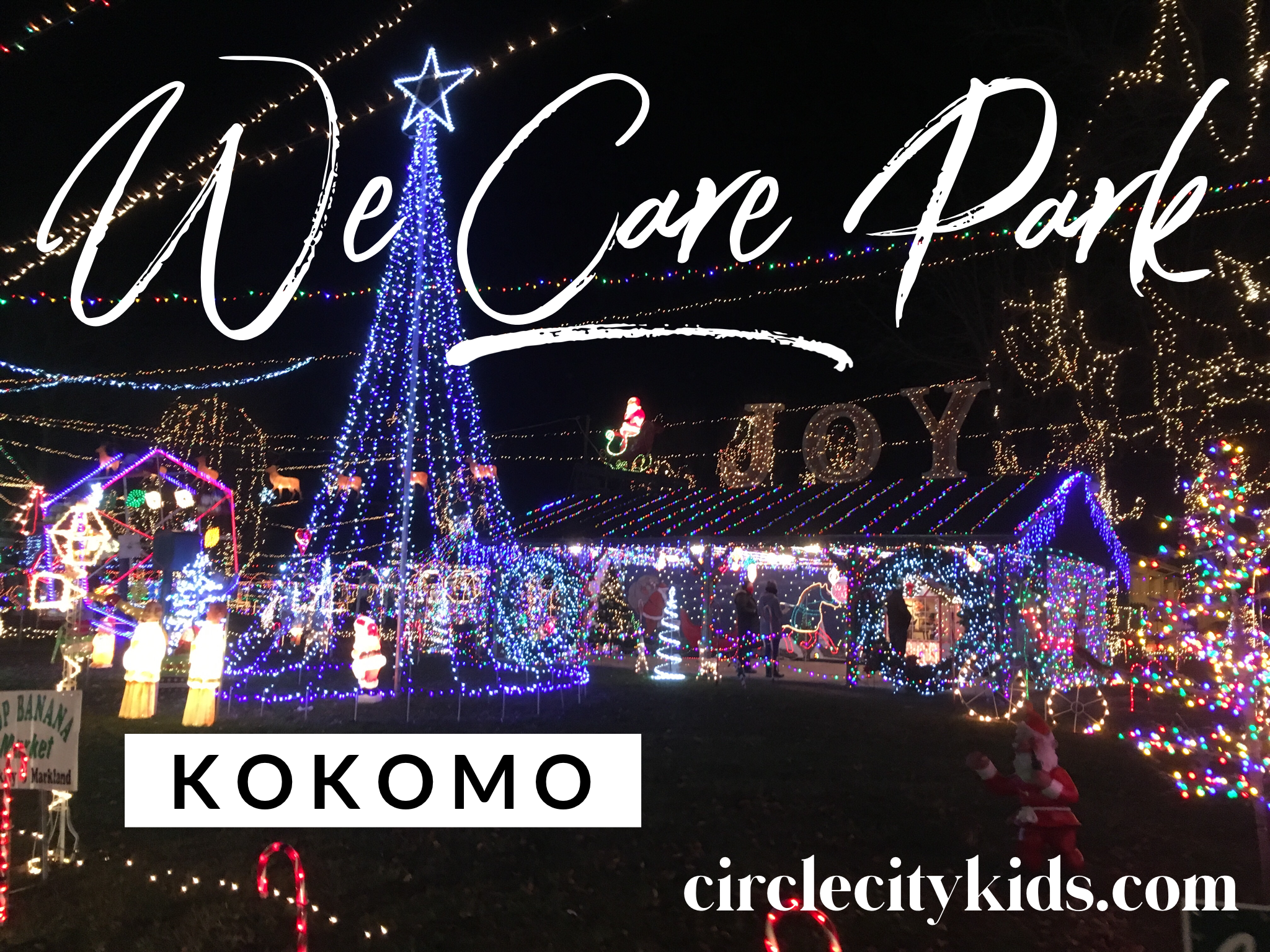 Indiana Christmas Lights - Circle City Adventure Kids