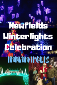 Newfields Winterlights Pin - Circle City Adventure Kids