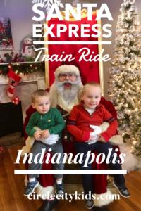 Sullivan Express Santa Train Ride Pin - Circle City Adventure Kid