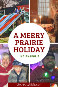 Merry Prairie Holiday Pin - Circle City Adventure Kids