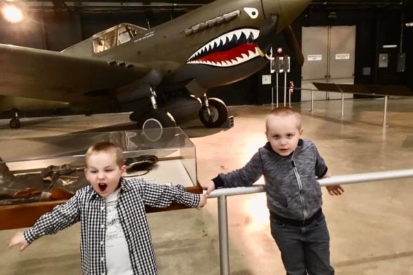 Dayton Air Force Museum - Circle City Adventure Kids - Fighter Plane