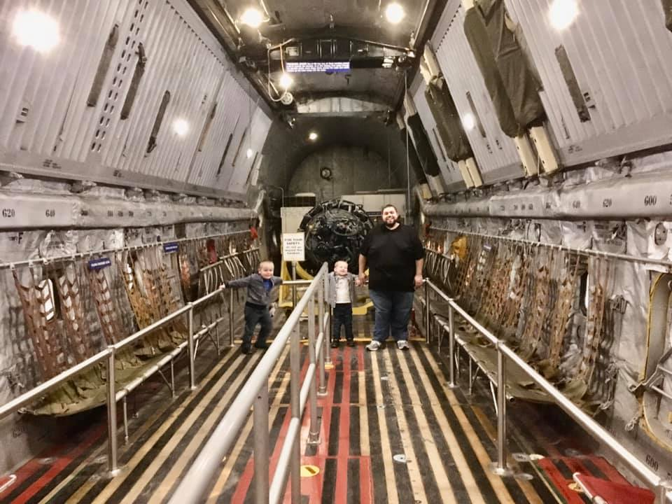 Dayton Air Force Museum - Circle City Adventure Kids - Inside Planes