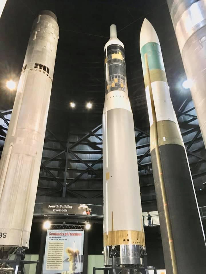 Dayton Air Force Museum - Circle City Adventure Kids - Missiles