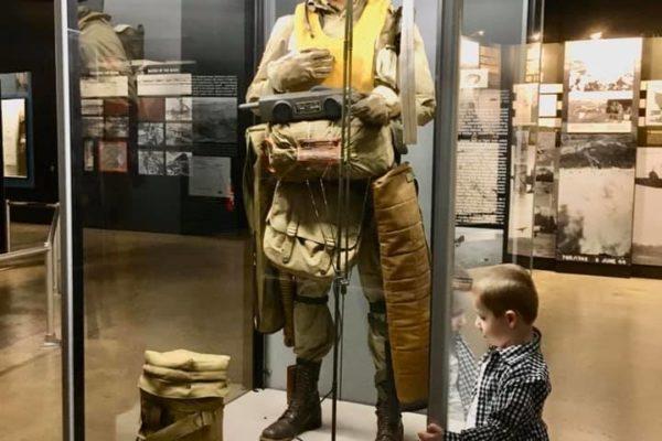 Dayton Air Force Museum - Circle City Adventure Kids - Paratrooper