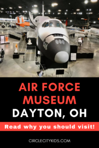 Air Force Museum Pinterest Pin - Circle City Adventure Kids