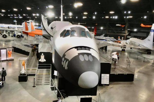 Dayton Air Force Museum - Circle City Adventure Kids - Space Shuttle