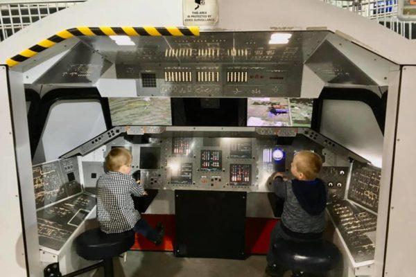 Dayton Air Force Museum - Circle City Adventure Kids - Simulator