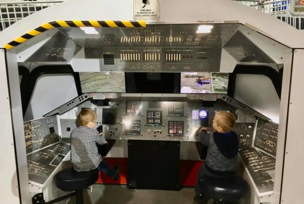 Dayton Air Force Museum - Circle City Adventure Kids - Simulator