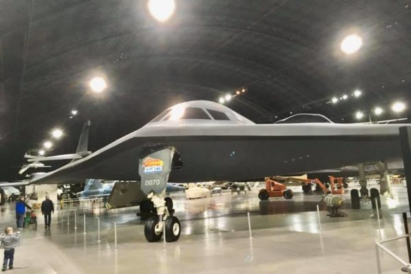 Dayton Air Force Museum - Circle City Adventure Kids - Stealth Bomber