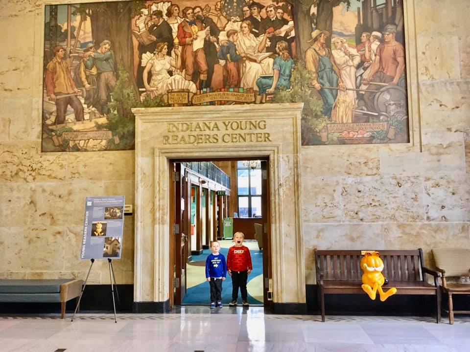 Visit Indiana Young Readers Center in Indiana State Library