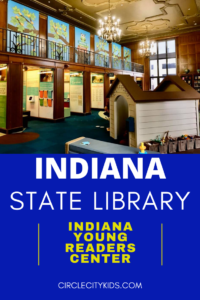 Indiana Young Readers Center Pin